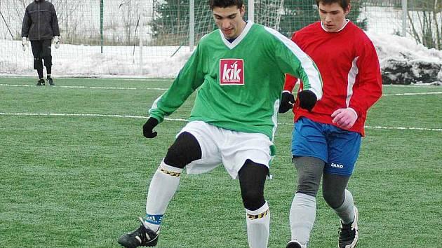 Zimní turnaj pro fotbalové dorostence GMN Cup na umělé trávě v Srbicích