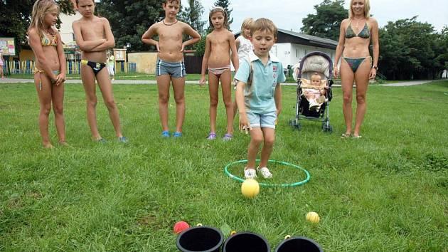 Děti na Barboře soutěžily o Disneyland
