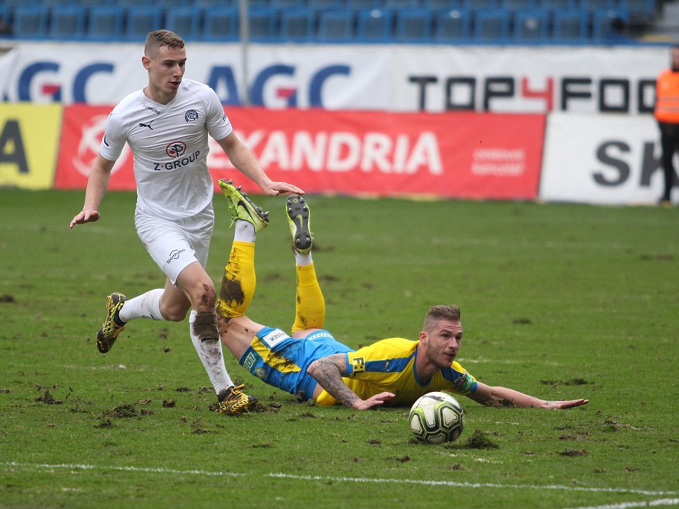 Žlutomodří remizovali se Slováckem 0:0.
