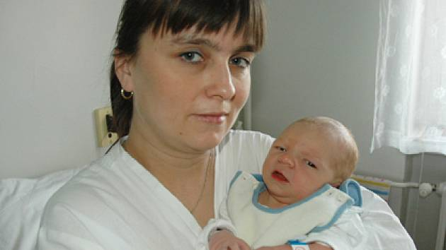 Iveta Michálková se synem Davidem