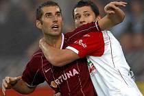 Libor Došek (vlevo) přestoupil do FK Teplice