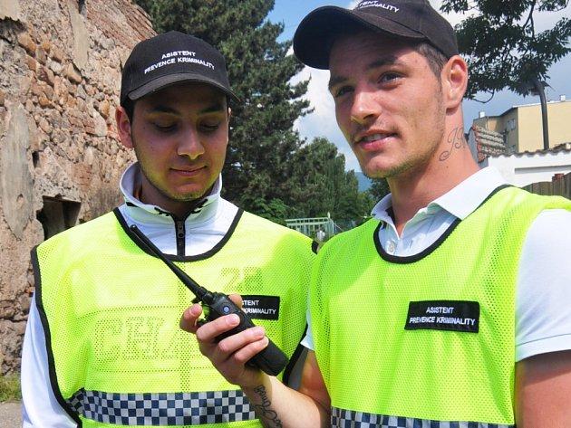 Asistenti prevence kriminality v Dubí.