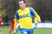 Michal Šimeček v dresu FK Teplice