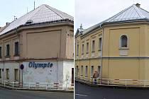 Přestavba Domu kultury Olympia v Krupce