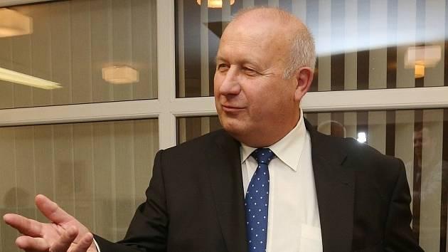 Oldřich Bubeníček na archivním snímku