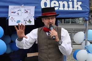 Den Deníku a skupiny ČEZ v centru Teplic