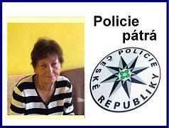 Policie pátrá po pohřešované Anně Němečkové.