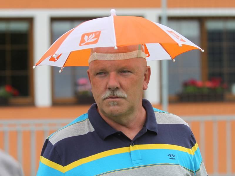Focení FK Teplice v Modré - Poustka