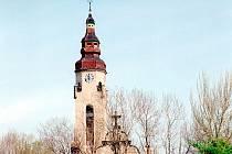 Vyhlídková věž kostela Církve československé husitské v Duchcově.