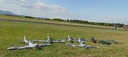 Na modelářském letišti Modelpark Suché nedaleko Modlan na Teplicku začalo Mistrovství světa leteckých modelářů kategorie combat, které potrvá až do neděle 19. srpna.