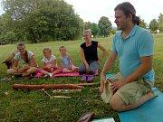 Koňský tábor v Proboštově zpestřily bubínky z celého světa.