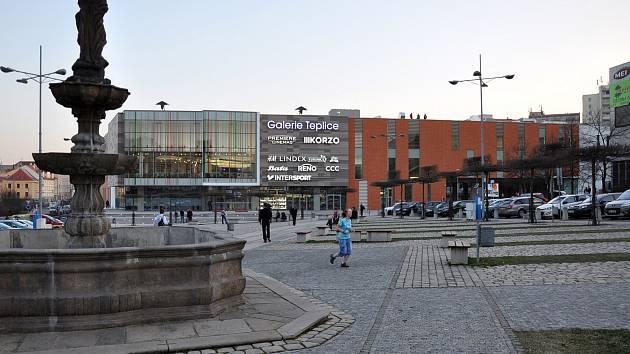 Obchodní centrum Galerie Teplice. Ilustrační foto.