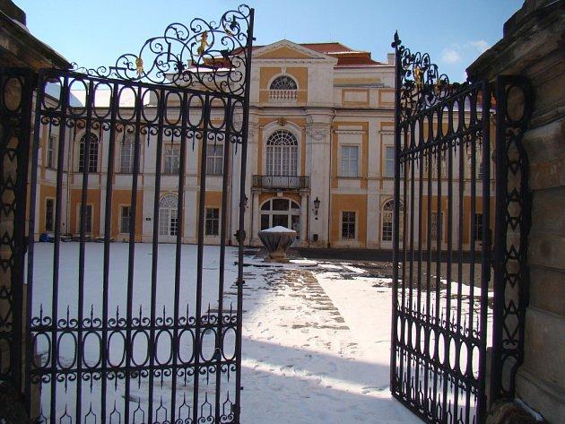 Státní zámek Duchcov.