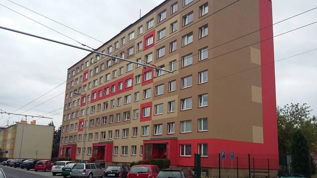 Dům v Prosetické ulici v Teplicích.