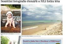 Fotografie, které už přišly do soutěže Nej foto. Poslat foto můžete do konce srpna! Finále o ceny bude v září.
