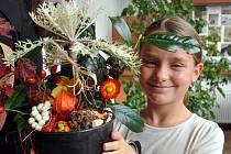 Podzimní tvořivé dny připravili v teplické botanické zahradě
