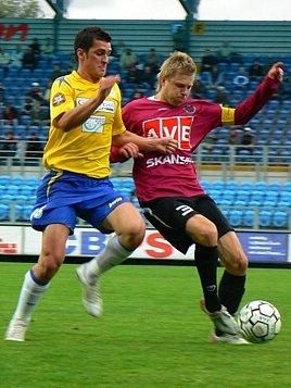 Martin Fenin vlevo.