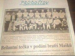 Proboštovské fotbalové legendy se setkají po 22 letech.