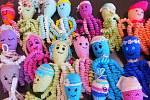 Chobotničky pro teplickou porodnici, pro nedonošené děti.