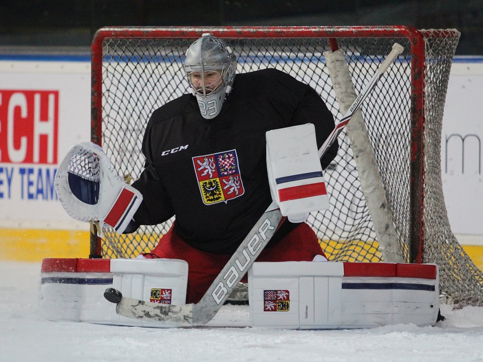 Pavel Francouz v dresu České republiky