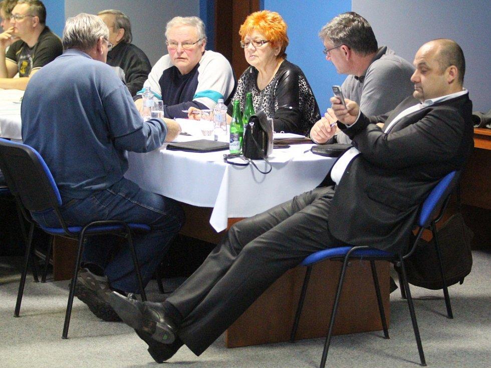 Volba nového předsedy OFS Teplice