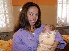 Mamince Markétě Udatné z Košťan se 19. října v 1.47 hod. v teplické porodnici narodila dcera Klára Udatná. Měřila 50 cm a vážila 3,40 kg.