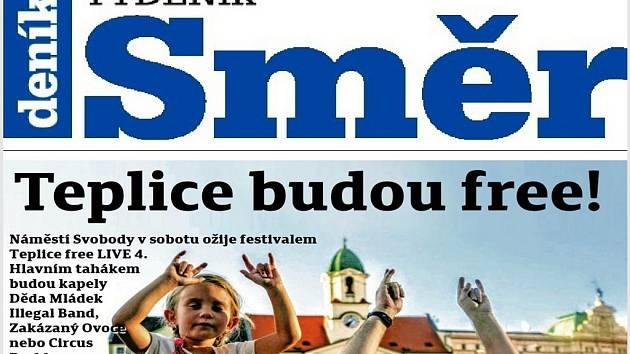 Nové vydání Týdeníku Směr.