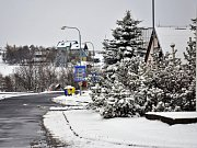 V Krušných horách napadl v úterý 18. dubna sníh.