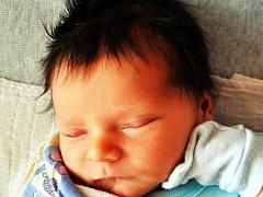 VÁCLAV KRAJÍČEK se narodil Nikole Matějkové z Teplic 30.10. ve 3.48 hod. v teplické porodnici. Měřil 51 cm a vážil 3,20 kg.