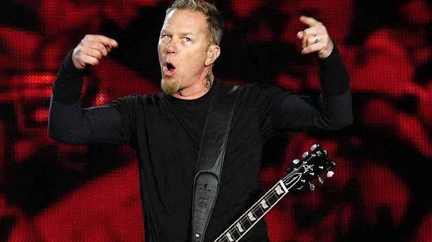 Zpěvák kapely Metallica James Hetfield