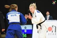 Věra Zemanová (SK Pro Sport Teplice Judo) v bílém