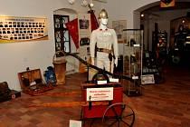 Vernisáž výstavy oseckých hasičů se konala v pondělí.