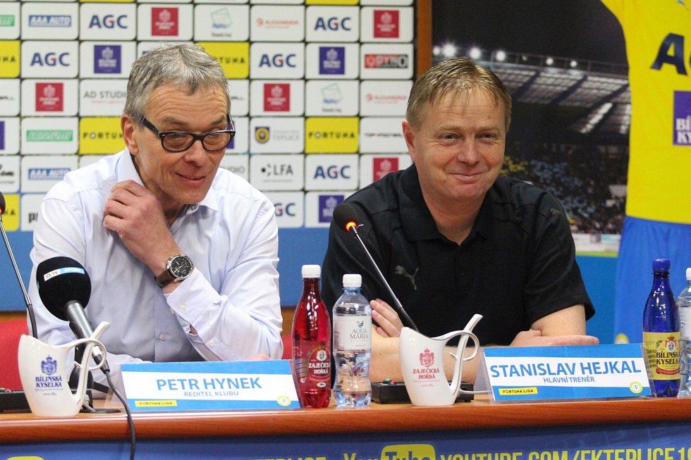 Petr Hynek a Stanislav Hejkal