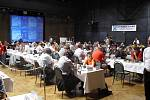 Estrádní sál Domu kulutry žije šachovým turnajem