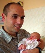 Mamince Martině Šmigurové z Bíliny  se 6. listopadu ve 22.35 hod. v ústecké porodnici narodila dcera Sofie Eowyn Faitová. Měřila 50 cm a vážila 3,20 kg. Na snímku s tatínkem Janem Faitem.