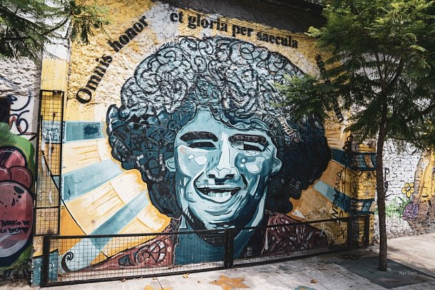 Diego Maradona byl bůh sčíslem 10na zádech.