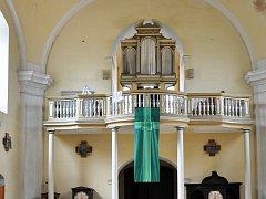 Varhany z kostela v Jeníkově
