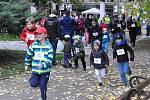Běh Zámeckou zahradou pro děti z Klokánku.