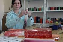 V Arkadii vyráběli svíčky.