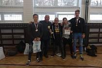 Tepličtí siláci ze stavební školy vybojovali v Brně druhé místo.