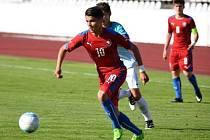 Osmnáctiletý Patrik Žitný se zabydlel v české reprezentaci do 19 let. Na turnaji v Japonsku přihrál na tři branky.