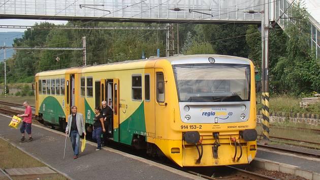 Na nádraží v Řetenicích.