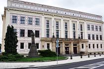 Budova gymnázia Duchcov a SPŠ