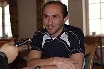 Pavel Verbíř při rozhovoru v Altenbergu.