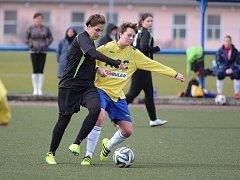 Fotbal žen: Teplice - Libušín 0:0