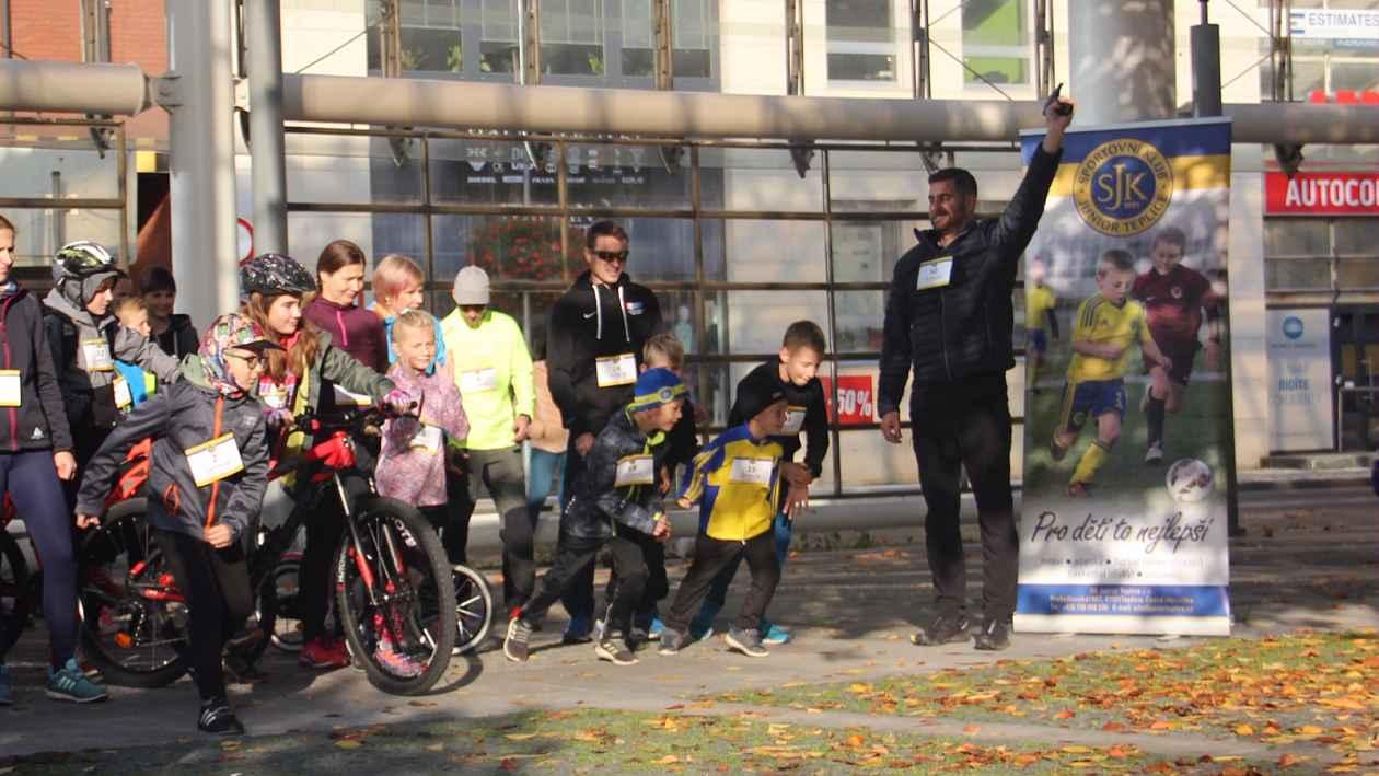 Charitativní běh pro Klokánek