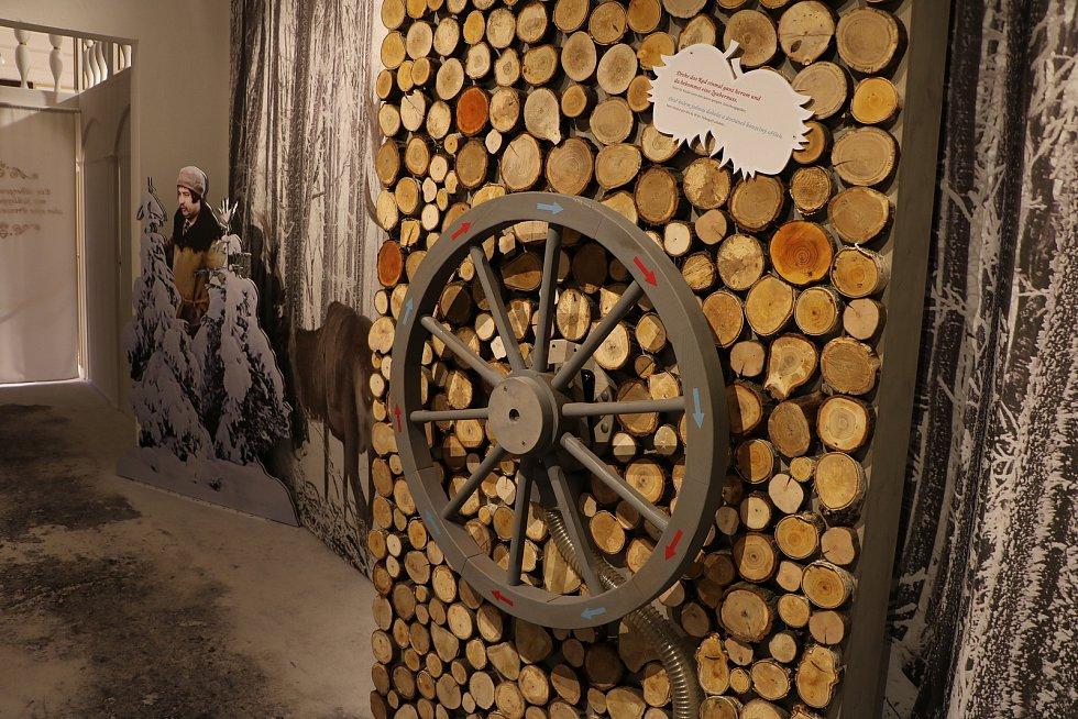"""Pohádková výstava """"Tři oříšky pro Popelku"""" v Moritzburgu."""