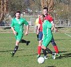 Slovan Sobadruhy - Baník Osek 1:3 (1:1)