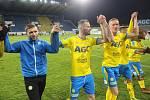 Teplice v posledním domácím utkání roku 2019 porazily Zlín 2:1.