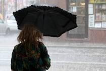 Ilustrační foto - déšť